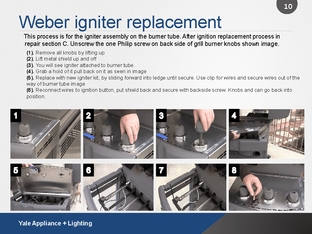How To Replace An Igniter On A Weber Grill