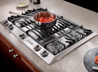 gas cooktop viking. Dacor-36-inch-gas-cooktop-DCT365SNG Gas Cooktop Viking