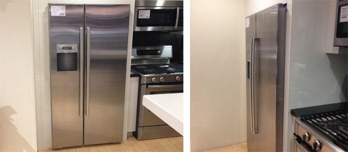 bosch counter depth refrigerator display 113