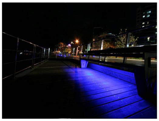 Led outdoor lighting choosing tape or rope led outdoor lighting tape sidewalk aloadofball Image collections
