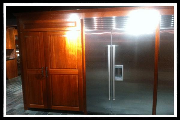 subzero 48 inch professional refrigerator installed