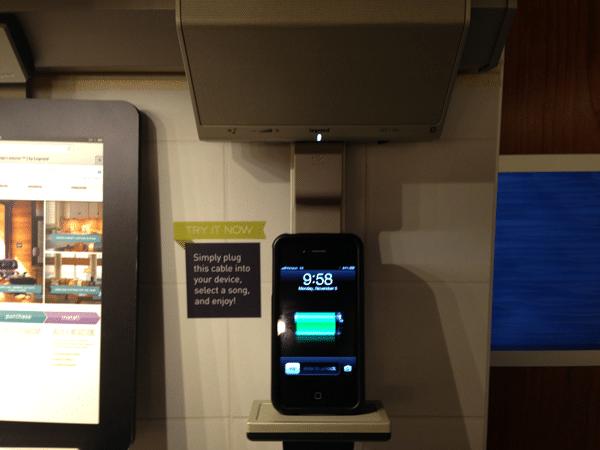 adorne legrand ipod iphone dock