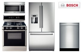 Kitchenaid Stainless Package Special May 2012, Bosch Stainless Package  Special May 2012