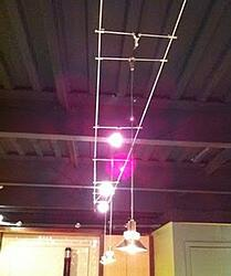 cable light track lighting