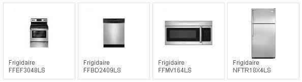 Frigidaire Silver Mist Kitchen Appliance Package
