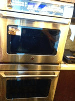 ge cafe wall oven new