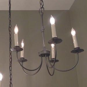 hubbardton forge chandelier display 107050