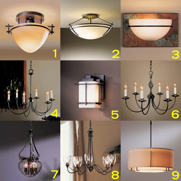 Hubbardton Forge Tourou: Hubbardton Forge Wrought Iron Chandeliers (Reviews/Ratings
