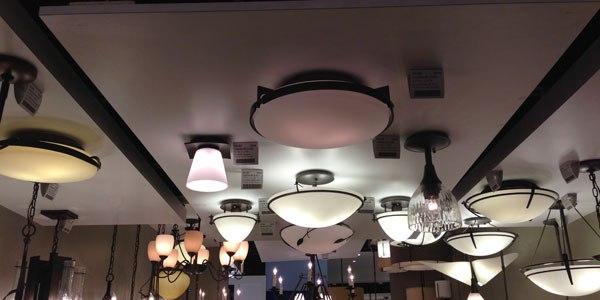 hubbardton forge lighting display 2