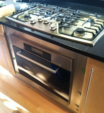 Under Cooktop Wall Oven