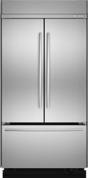 jennair 42 inch french door refrigerator JF42SSFXDA
