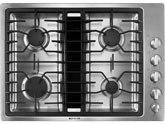 jennair downdraft cooktop JGD3430WS
