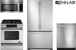 jennair pro style kitchen appliance package