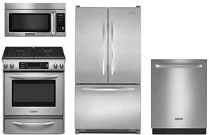 kitchenaid stainless steel kitchen package