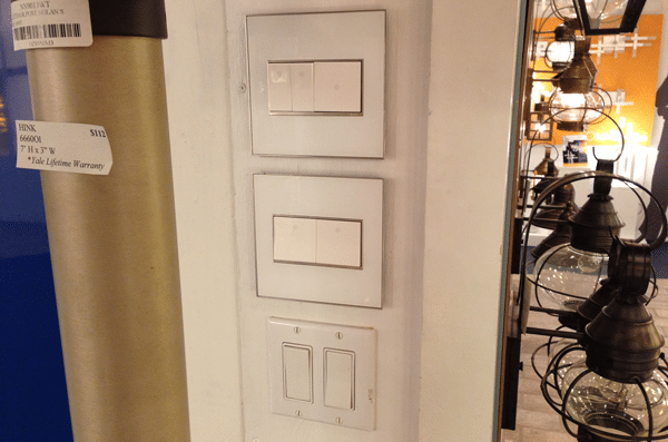 legrand adorne compared standard switches