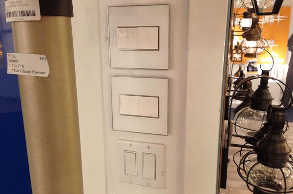 legrand adorne compared standard switches