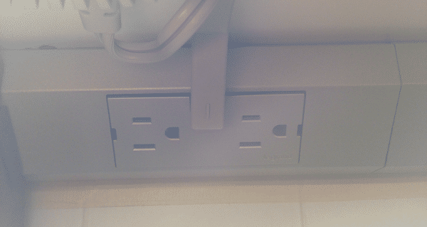 legrand under cabinet electrical socket