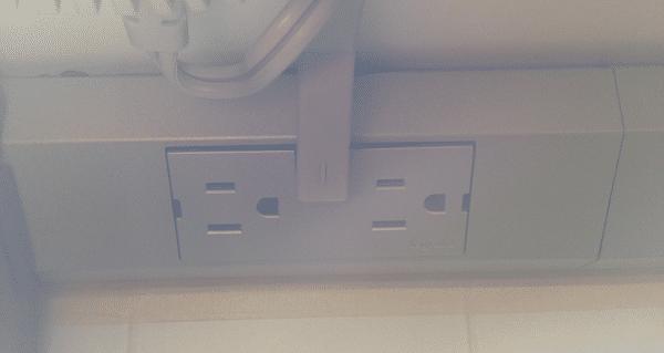 legrand under cabinet electrical socket