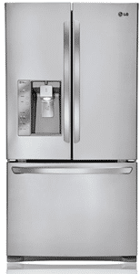 LG really big refrigerator