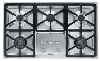 miele 36 inch gas cooktop KM3474LP