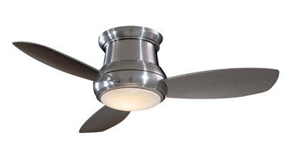 minka aire low profile hugger ceiling fan F519BN