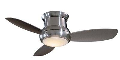 minka aire low profile hugger ceiling fan F519BN