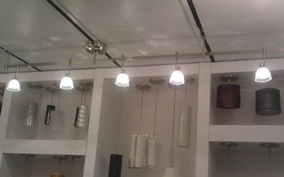 kitchen track lighting led. Standard Track Lighting Display, Cable Light Lighting, Monorail Kitchen Led