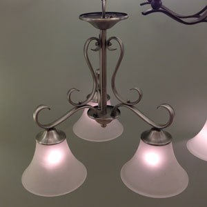 quoizel chandelier display DH5103AN