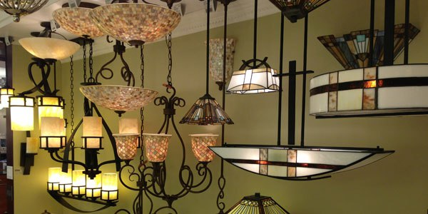 quoizel lighting display 1