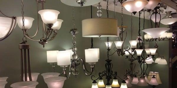 quoizel lighting display 2
