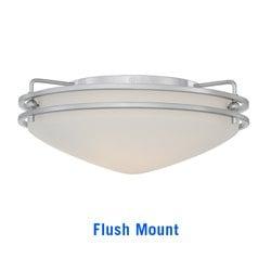 quoizel OZ1613C flush mount light