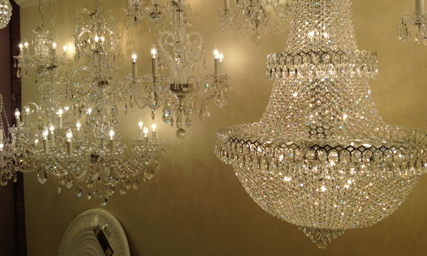 Different crystal lighting shapes schonbek crystal chandelier gallery aloadofball Choice Image