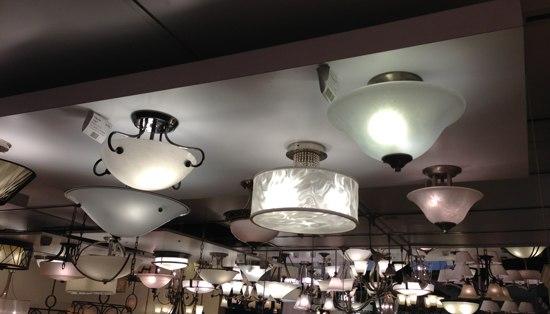 semi flush flushmount lights 5