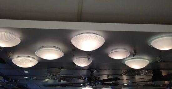 semi flush flushmount lights 6
