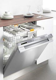 stainless miele dishwasher