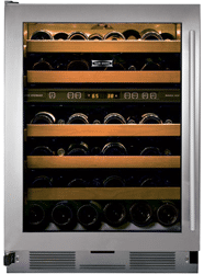 subzero 424 wine storage