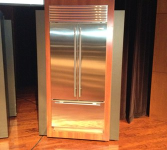 new subzero french door refrigerator
