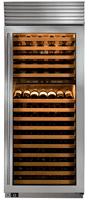 subzero tall wine cooler