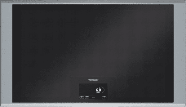 the new thermador freedom induction cooktop CIT36XKB def