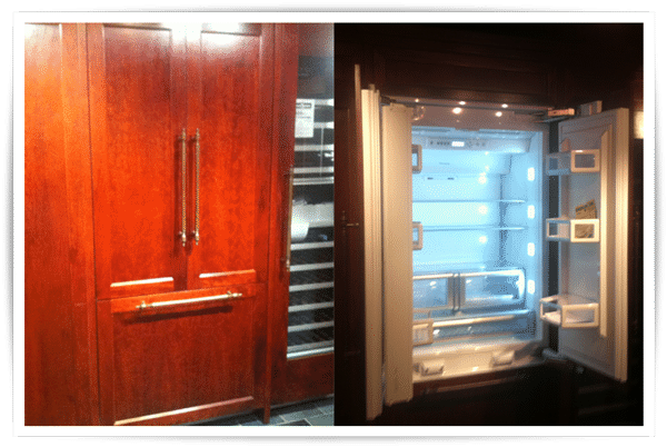 thermador 30 inch professional integrated refrigerators