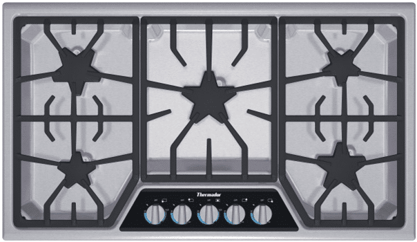 thermador vs wolf gas cooktops 1
