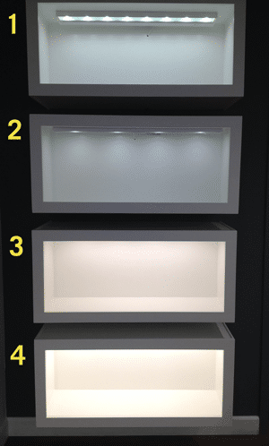 Under cabinet lighting led vs xenon which is better undercounter lighting display audiocablefo Light shop