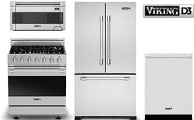 Superb Viking D3 Designer Kitchen Appliance Package