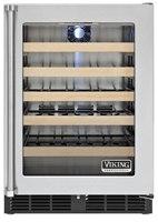 viking wine refrigerator VWCI1240GRSS