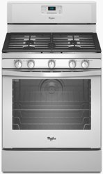 whirlpool freestanding gas range WFG540H0AS