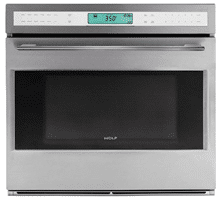wolf double convection wall oven SO302