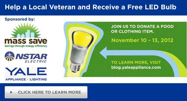 LED bulb giveaway event