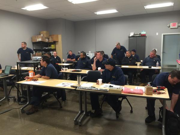 Yale Appliance service team training