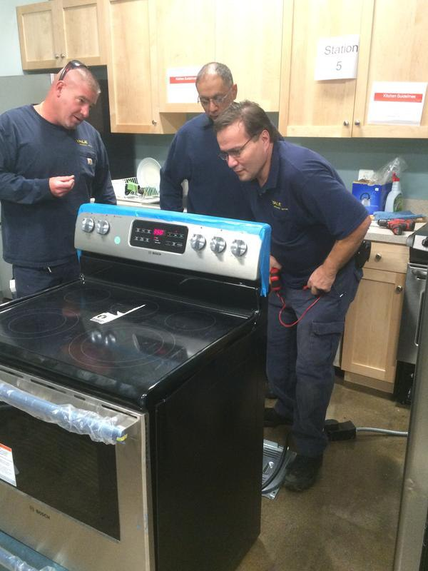yale appliance service team training class