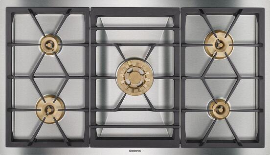 Gaggenau vs viking vs thermador 36 inch gas cooktops for Viking wok burner